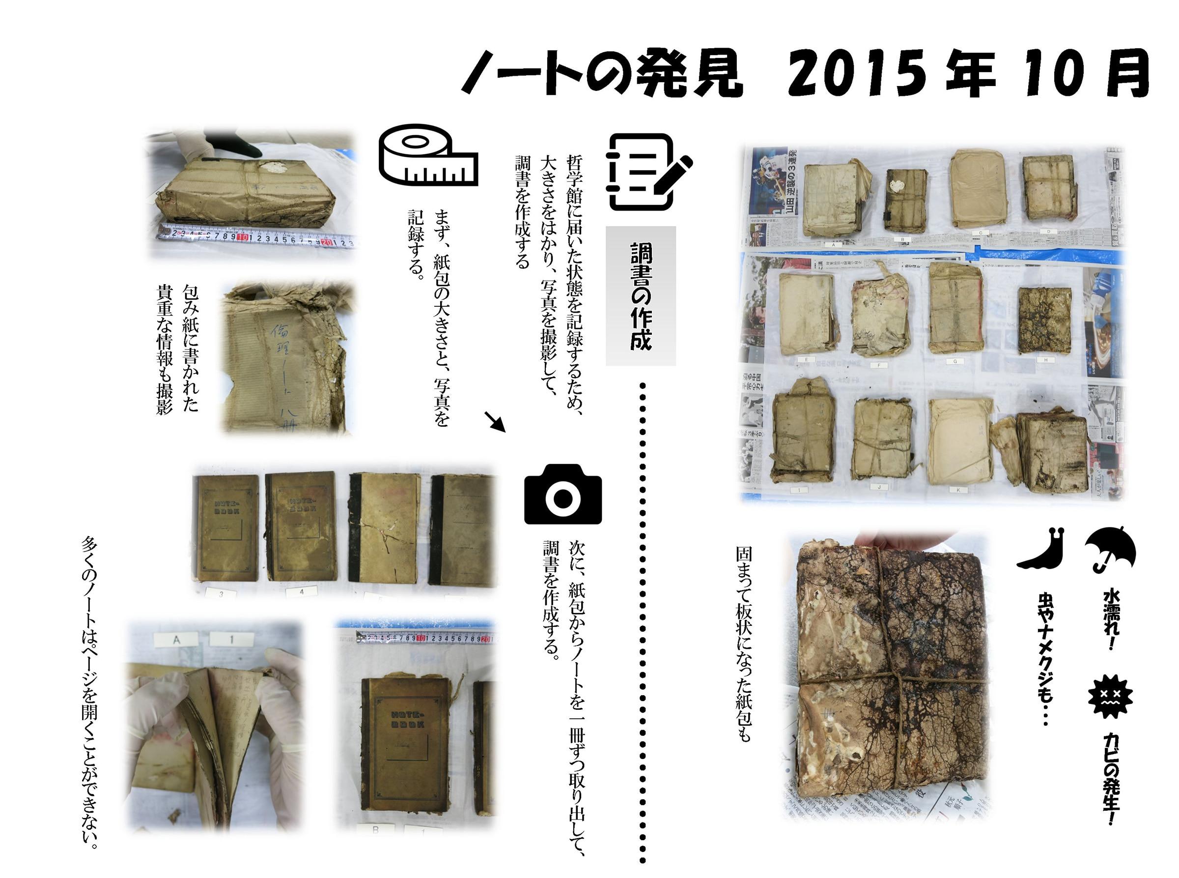 ノートの発見 2015年10月